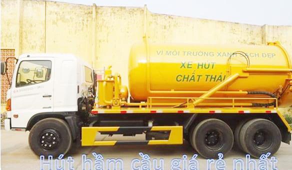 Dịch vụ hút hầm cầu Vĩnh Cửu giá rẻ, chuyên nghiệp