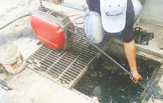 Dịch vụ thông cống nghẹt Nhơn Trạch bảo hành 2 năm, sạch 99%